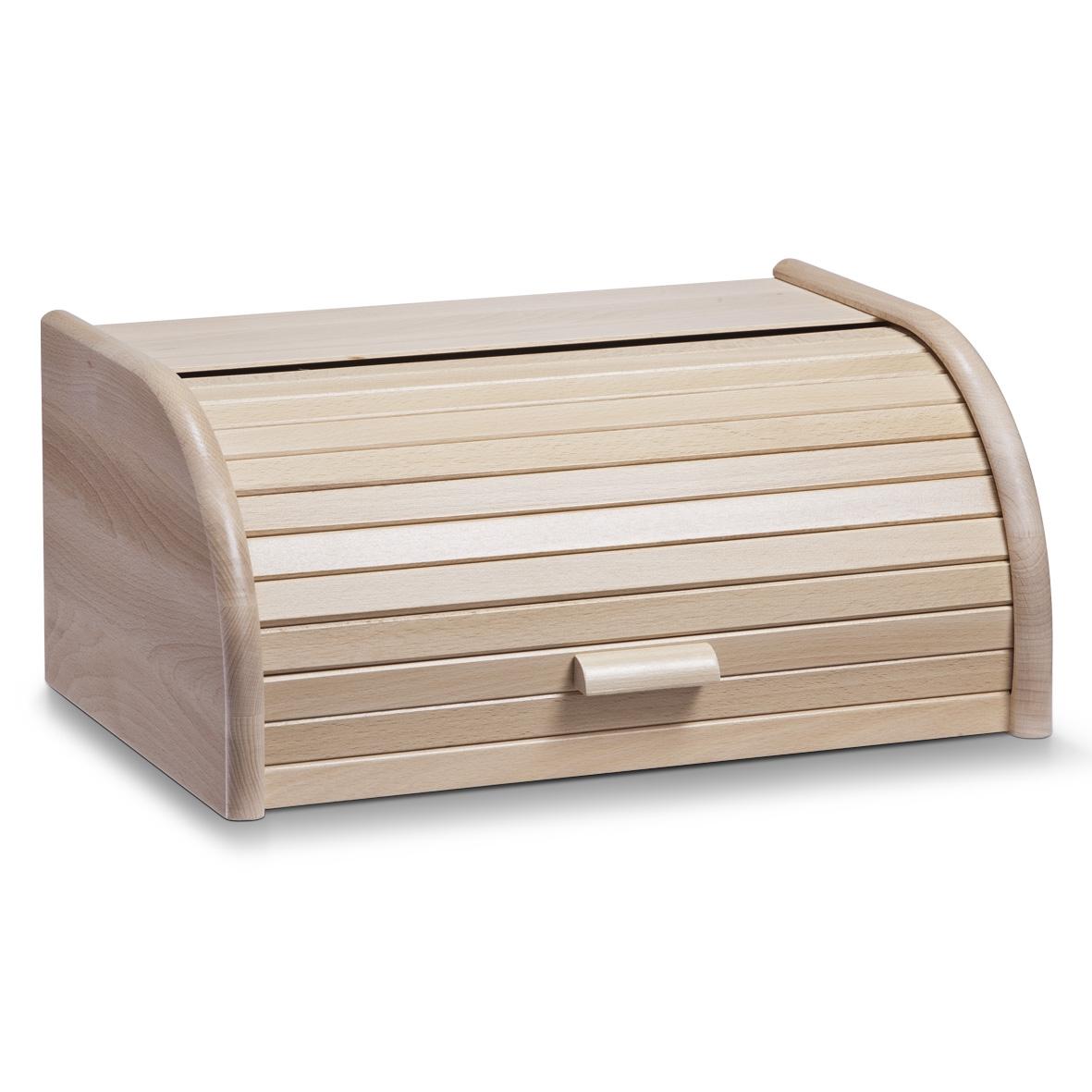 Cutie pentru paine, din lemn de fag, Natural, l40xA28xH18 cm imagine