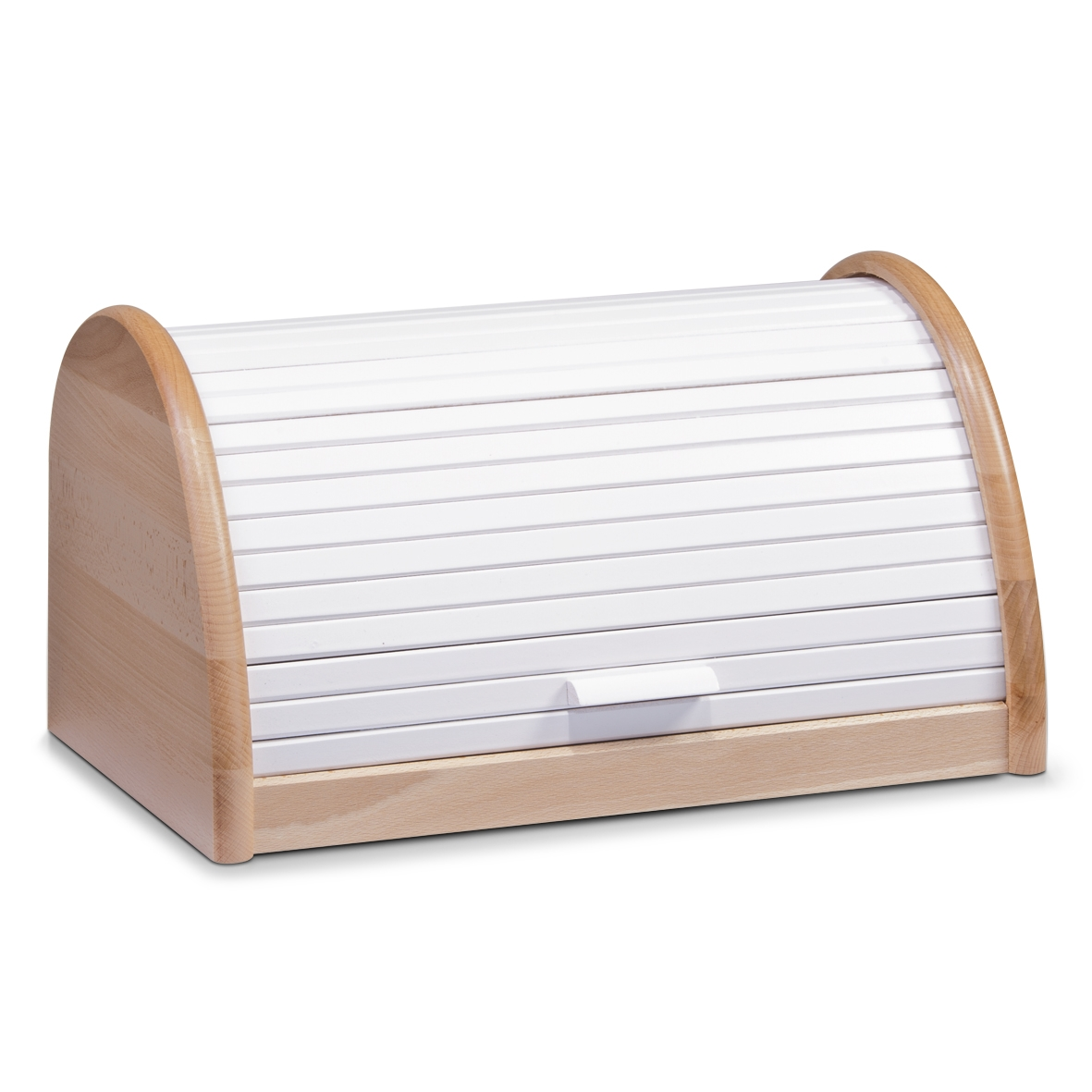Cutie pentru paine, din lemn de fag, White, l39xA25xH21 cm imagine