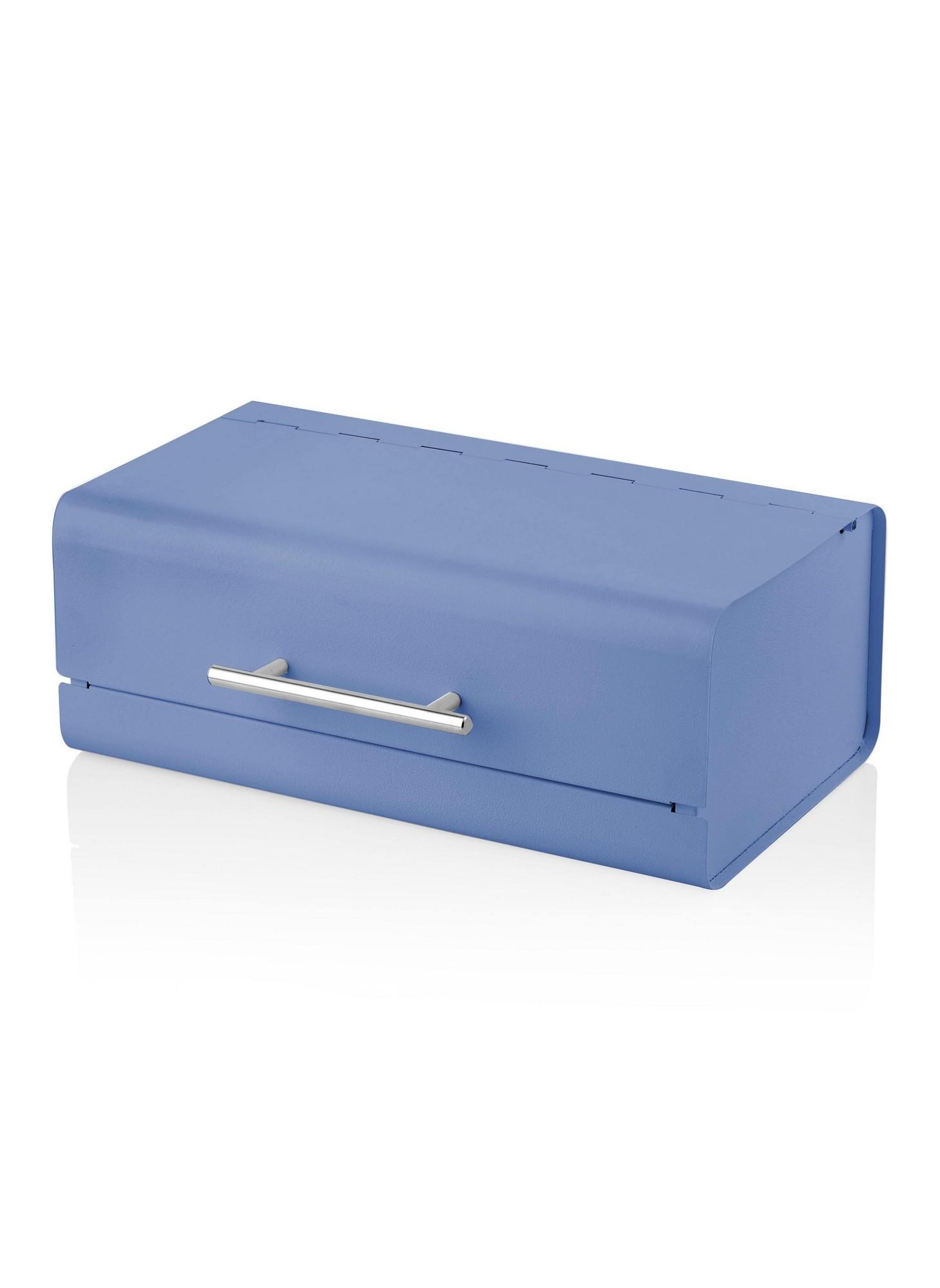 Cutie pentru paine, din metal, Glove Bleu, l36xA21xH13 cm imagine