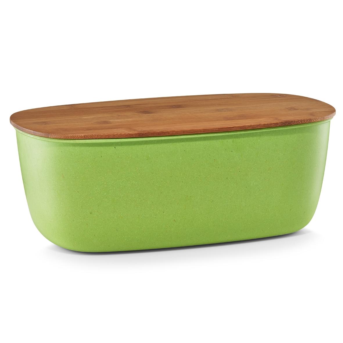 Cutie pentru paine Green, fibra de bambus, l35,4xA20xH13 cm imagine