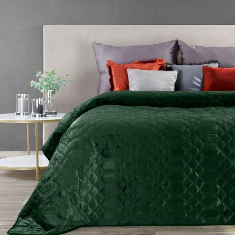 Cuvertura Ariel Velvet Verde, 220 x 240 cm