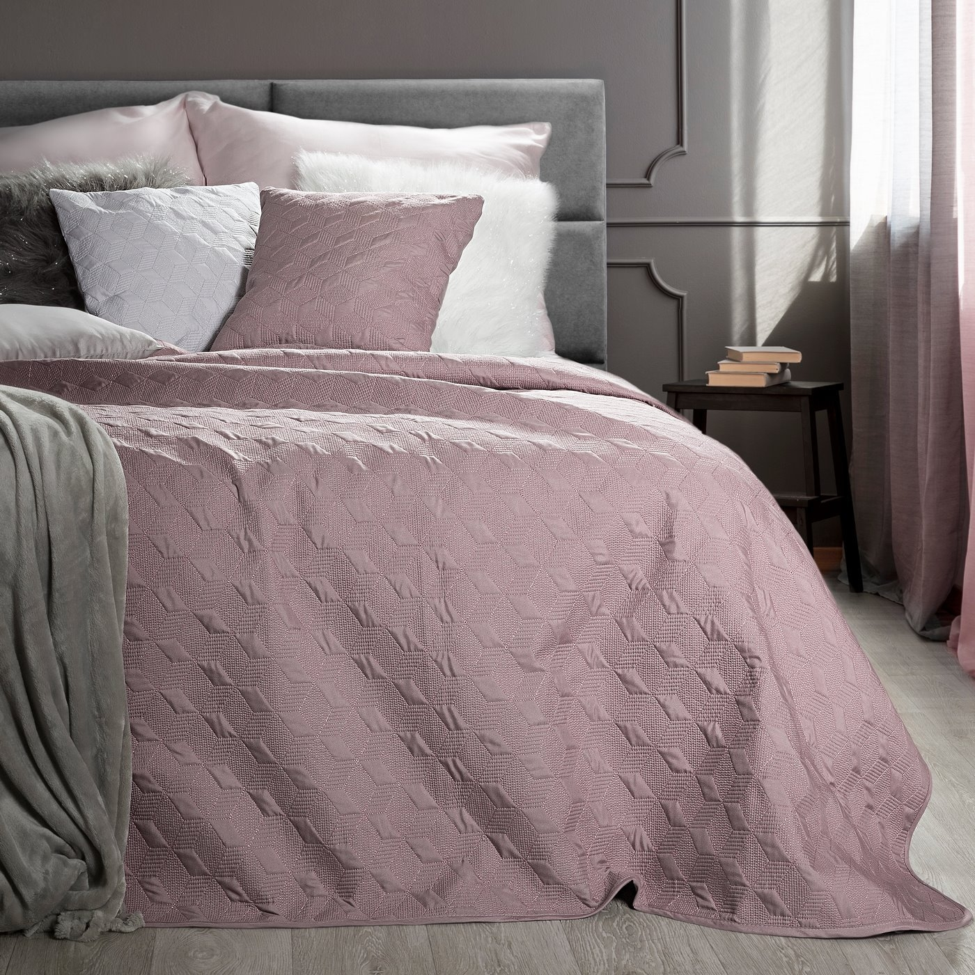 Cuvertura Odeta Pink, 220 x 240 cm