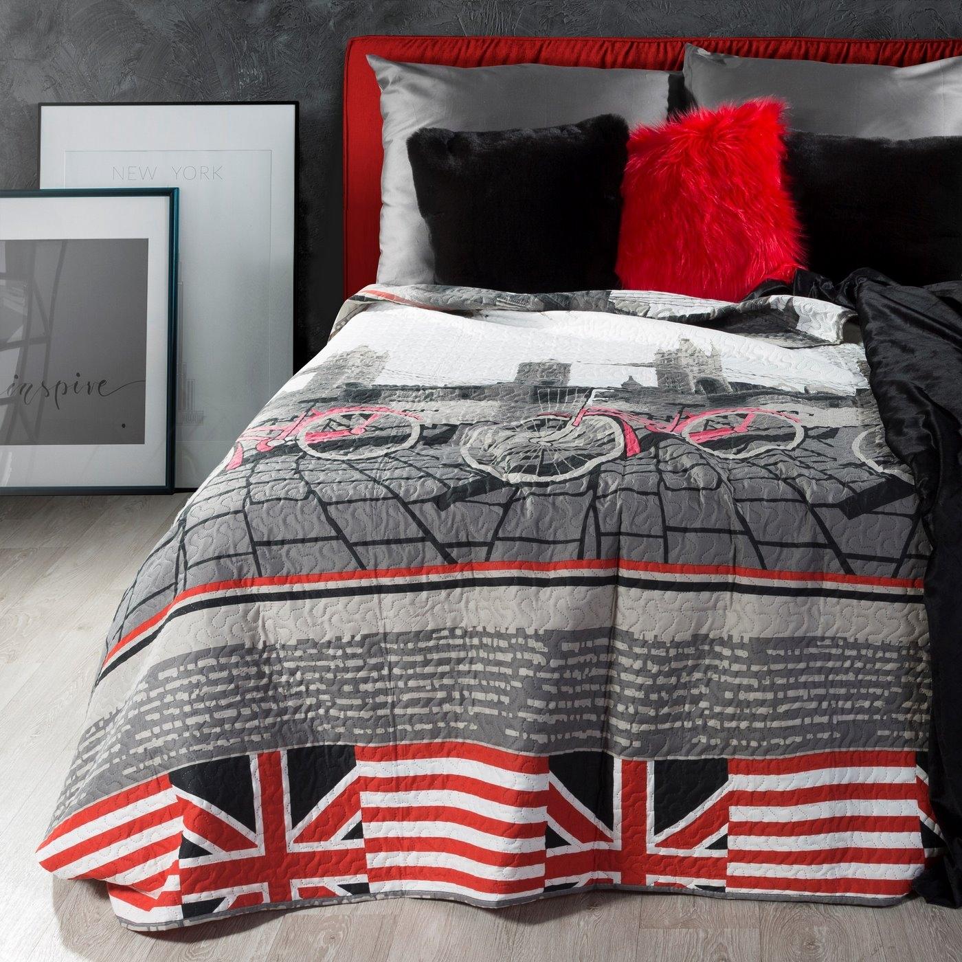 Cuvertura pat copii Britain Multicolour, 170 x 210 cm