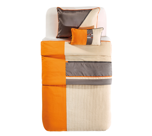 Set cuvertura pat copii si 1 perna decorativa Dynamic Multicolor