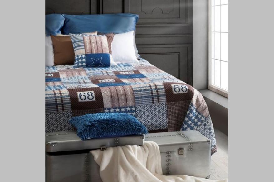 Cuvertura pat copii Victoria Multicolour, 170 x 210 cm