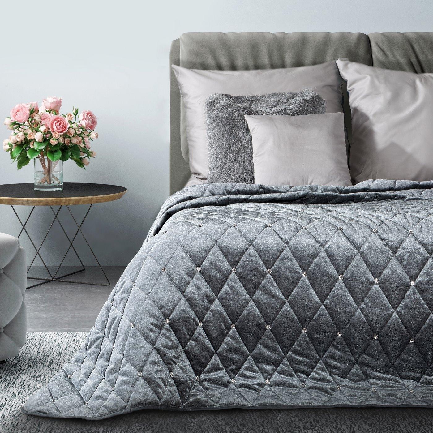 Cuvertura Samara Grey 200 x 220 cm