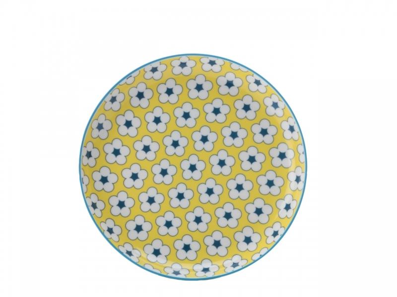 Farfurie desert Yellow, Cotton Bud, 18,5 cm