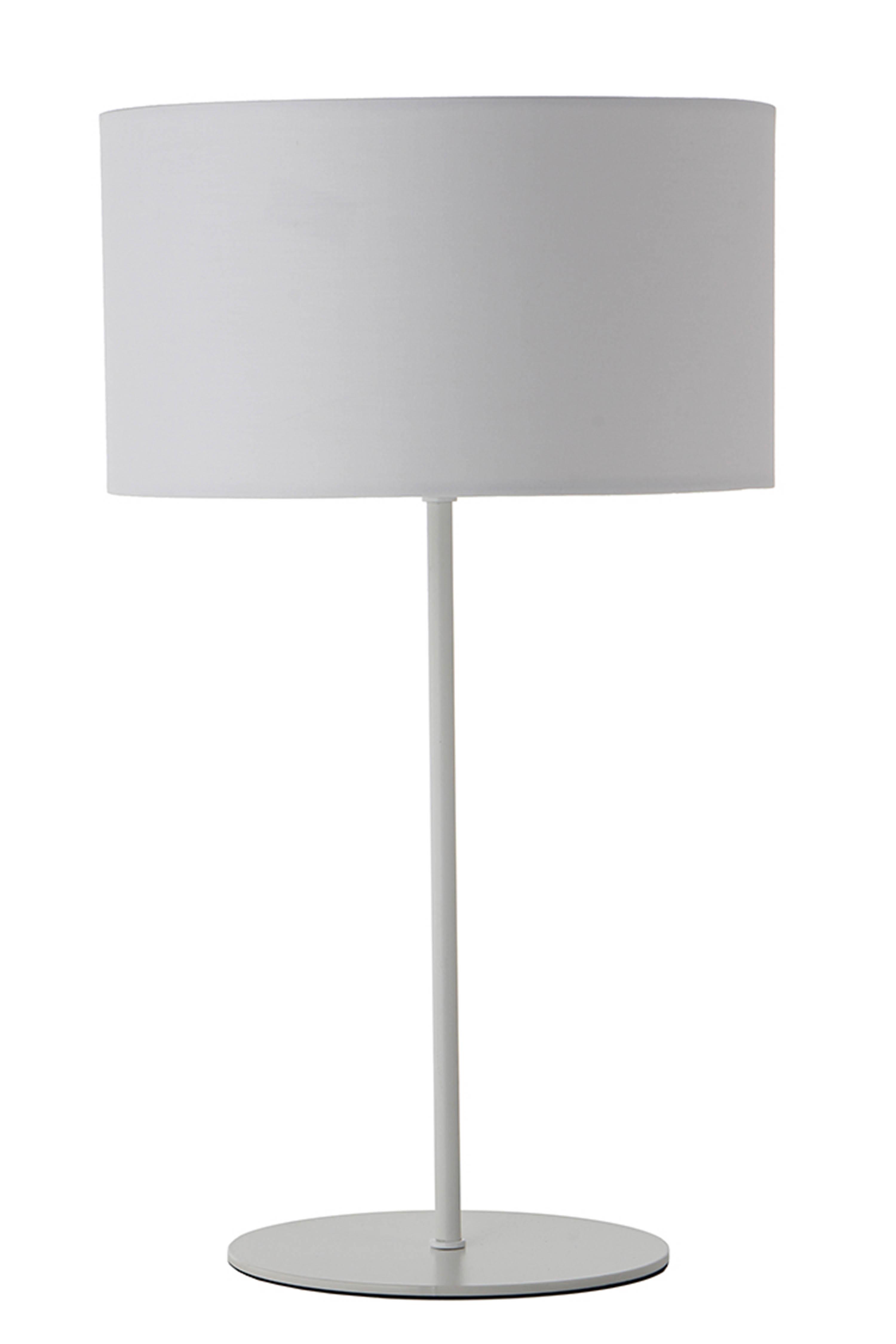 Veioza Cylinder White