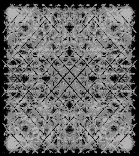 Covor Sahara 008 CD01 Black, Tesut mecanic