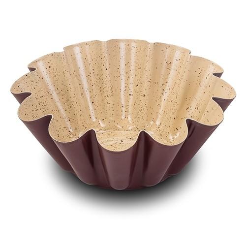 Tava cuptor invelis ceramic Flower Eco Friendly, Ø22,5xH8 cm