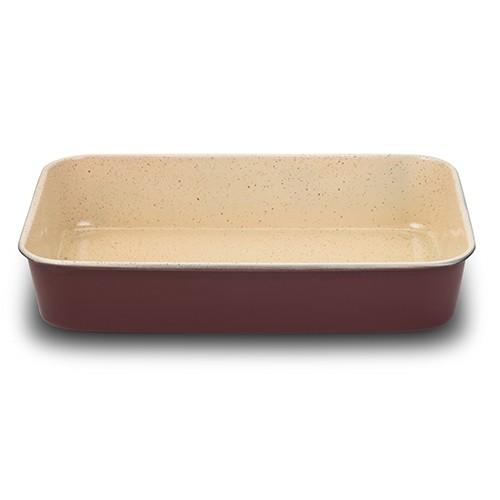 Tava cuptor invelis ceramic M Eco Friendly, L40xl28xH7 cm