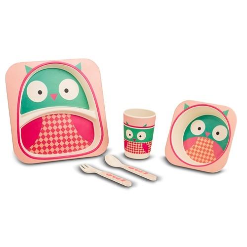 Set pentru copii Owl, 5 piese