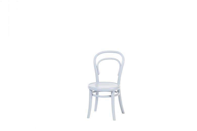 Scaun pentru copii, din lemn de fag Petit Grey, l32xA40,5xH63 cm