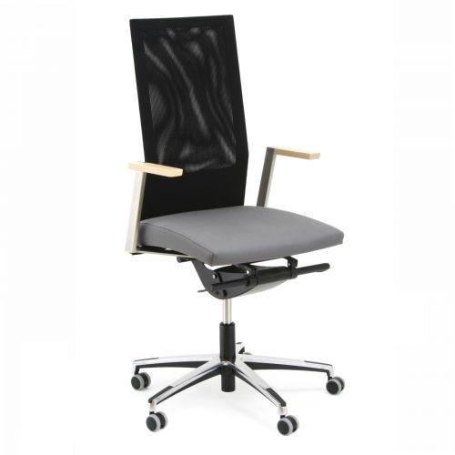 Scaun de birou ergonomic Fierotec Una, l57xA67xH107-120 cm