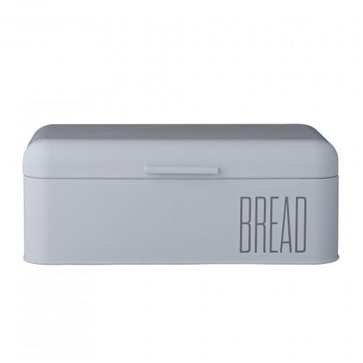 Cutie pentru paine Bleu, Metal, l22,8xL42,5xH16,5 cm