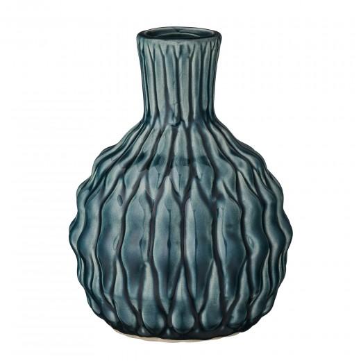 Vaza Verde, Ceramica, Ø12xH16 cm