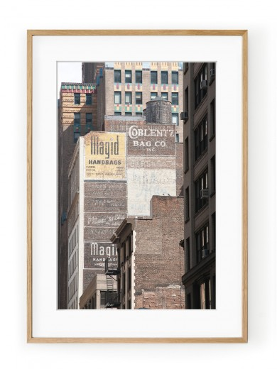 Tablou Manhattan Brick Walls Oak