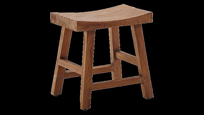 Scaun din lemn de tec Charles Small
