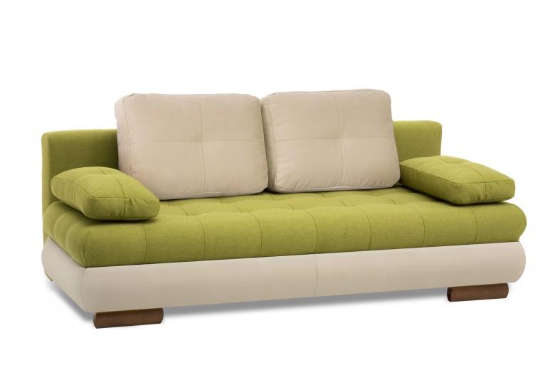 Canapea extensibila 3 locuri Luore Green