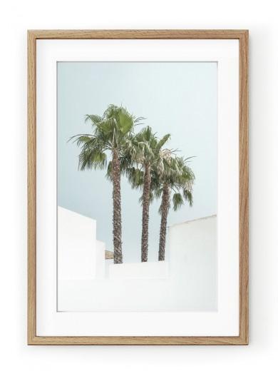 Tablou Minimal Palm Trees Oak