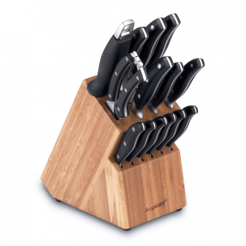 Set 12 cutite + accesorii Black, Essentials Line