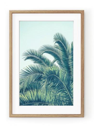 Tablou Seaside Palms Oak