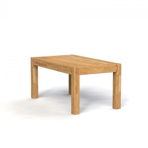 Masa din lemn masiv de stejar natural Koli, L120xl80xh77 cm