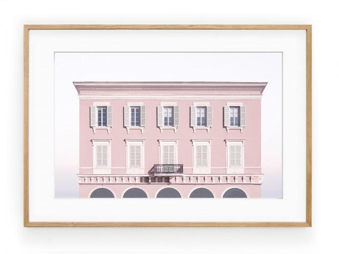 Tablou Pink House Oak