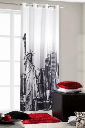Perdea Newyork 140X250 Gri Închis 1 buc 1