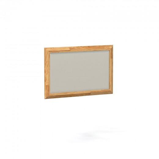 Oglinda decorativa din lemn masiv de stejar natural Odys, L85xl50 cm