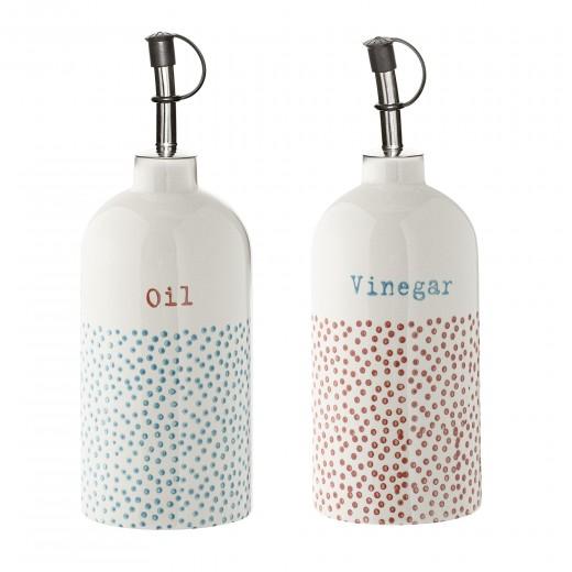 Set 2 Oliviere Ulei & Vinegar, Ceramic, Ø7xH20 cm