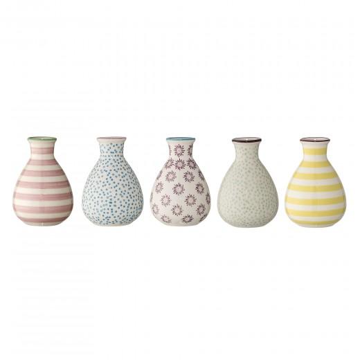 Set 5 vaze Patrizia Multi-color, Ceramica
