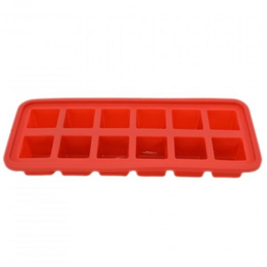 Forma de silicon pentru gheata 26 x 10,8 cm, Red, Dainty