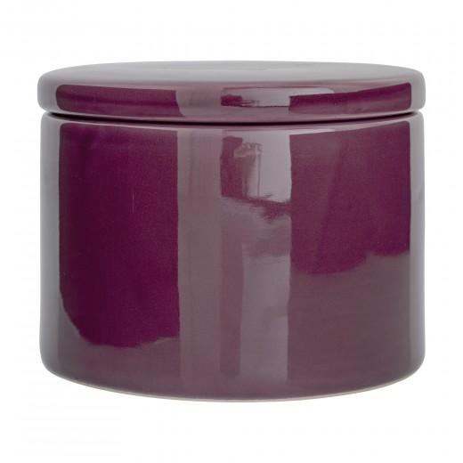 """Recipient pentru depozitare """"Jar Purple'', Ceramica, Ø15xH10 cm"""