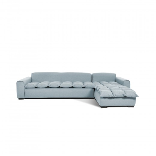 Coltar Fix 3 locuri Cloud Right Light Bleu