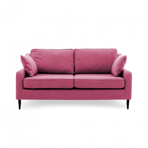 Canapea Fixa 3 locuri Bond Pink