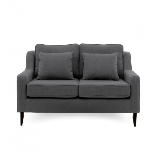 Canapea Fixa 2 locuri Bond Dark Grey