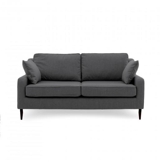 Canapea Fixa 3 locuri Bond Dark Grey