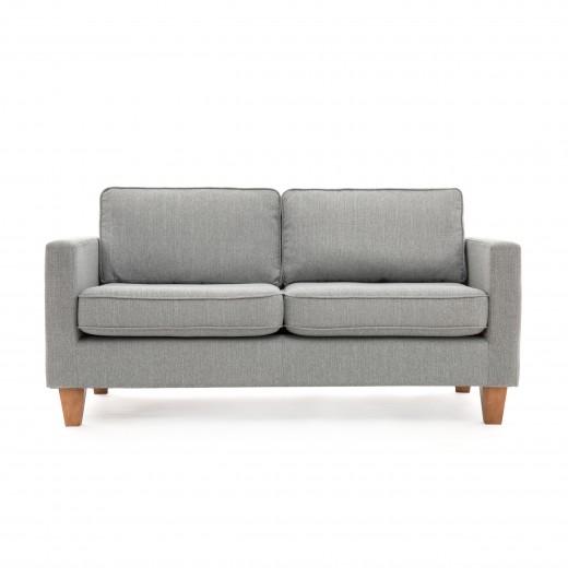 Canapea Fixa 3 locuri Sorio Light Grey