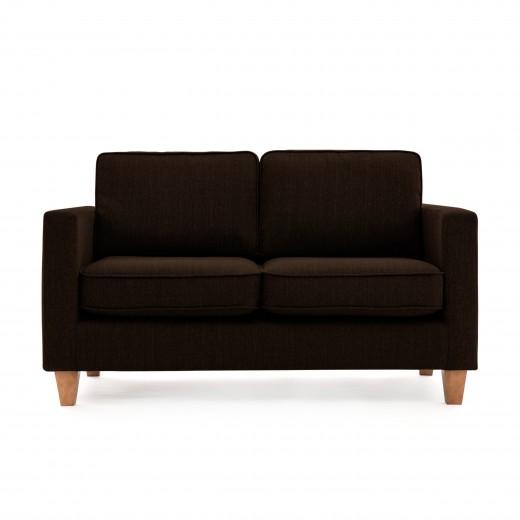 Canapea Fixa 2 locuri Sorio Dark Brown