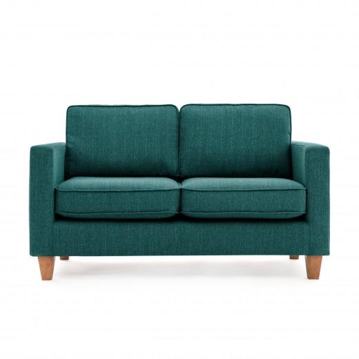 Canapea Fixa 2 locuri Sorio Turquoise