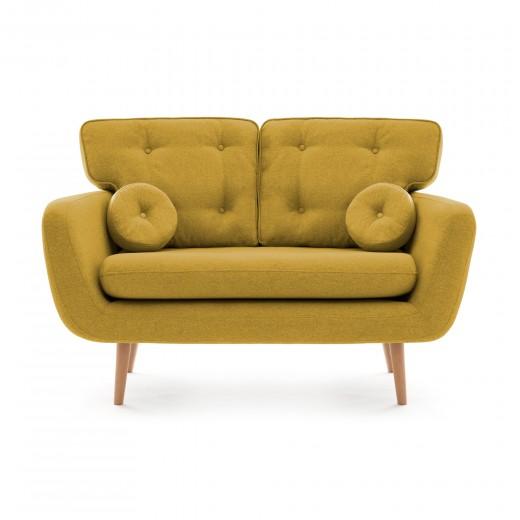 Canapea Fixa 2 locuri Malva Lemon