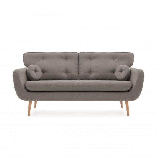 Canapea Fixa 3 locuri Malva Grey
