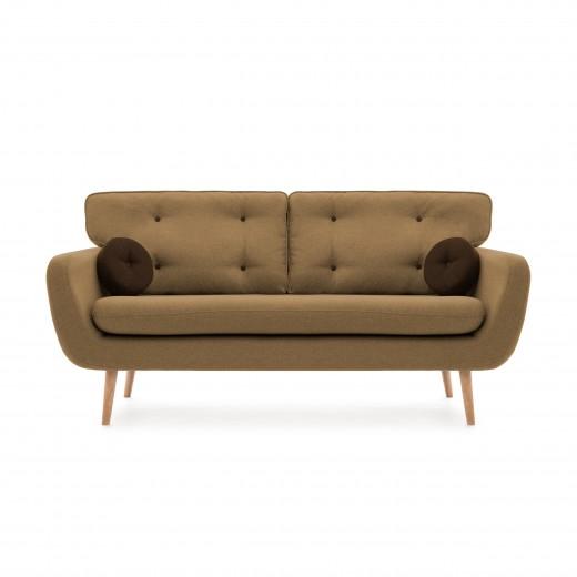 Canapea Fixa 3 locuri Malva Sand Brown