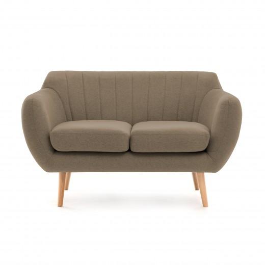 Canapea Fixa 2 locuri Kennet Beige