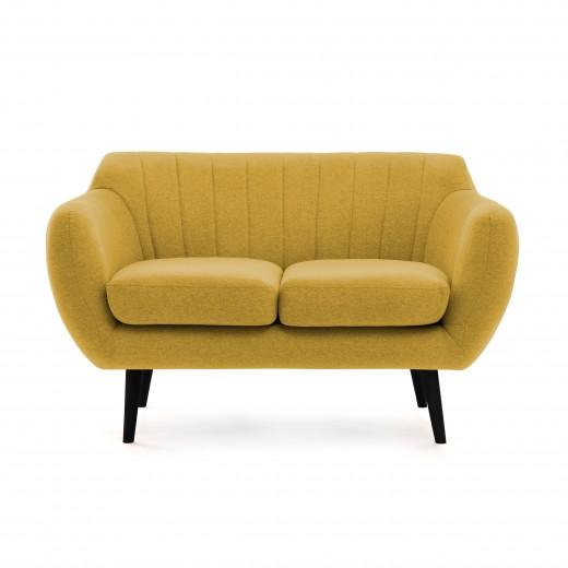 Canapea Fixa 2 locuri Kennet Lemon II
