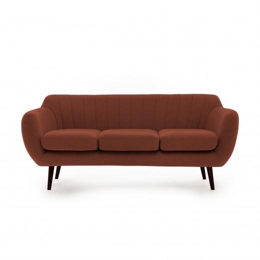 Canapea Fixa 3 locuri Kennet Marsala II