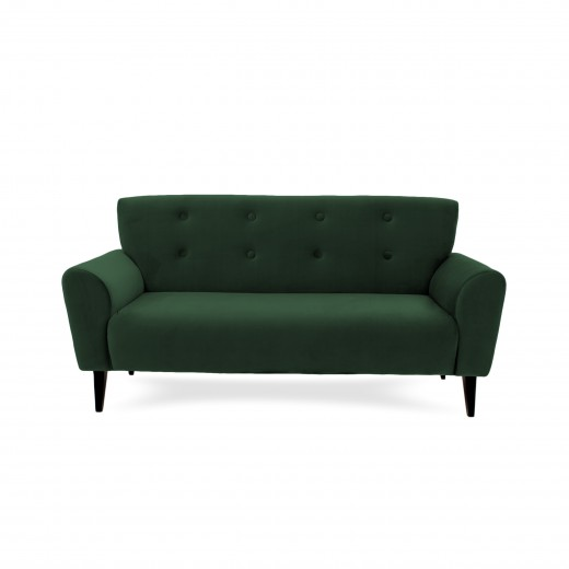 Canapea Fixa 3 locuri Kiara Emerald Green