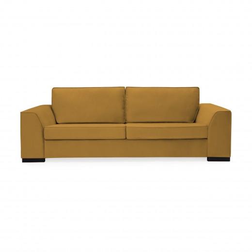 Canapea 3 locuri Bronson Mustard