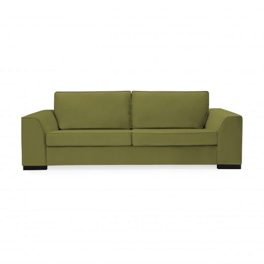 Canapea 3 locuri Bronson Olive Green